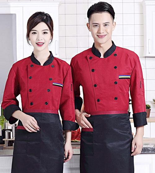 mẫu áo bếp đẹp