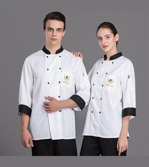 danh sách đồng phục đầu bếp