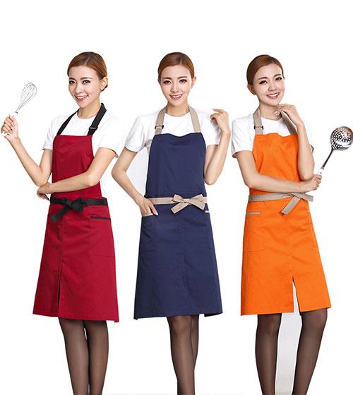 Đồng phục tạp dề nhà hàng, quán cafe