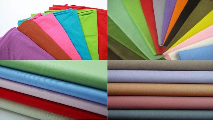 Các loại vải đa dạng trong việc may đo của đồng phục Thành Công