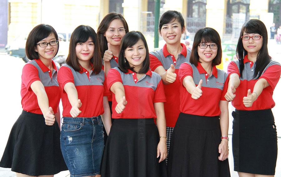 Đồng phục áo thun nhân viên chuyên nghiệp